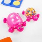 """Набор для творчества """"Слим черепашка с шариками своими руками"""", цвет розовый"""