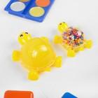 """Набор для творчества """"Слим черепашка с шариками своими руками"""", цвет желтый"""
