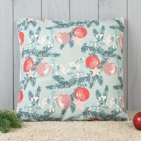 Подушка декоративная с фотопечатью «Зимняя сказка» 40х40 см