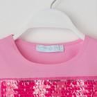 """Футболка детская KAFTAN """"Blonde"""" р.30 (98-104 см), розовый - фото 105705094"""