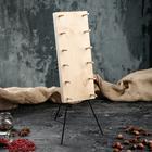 Доска для разделки и копчения рыбы 30 х 12 см, массив берёзы