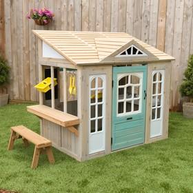 Игровой домик «Загородный», с кухней и садовым инвентарём