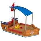 "Песочница ""Пиратская лодка"""
