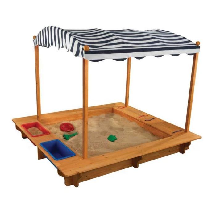 Игровая песочница, с тентом