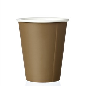 Чайный стакан Laurа 200 мл, коричневый