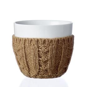 Чайный стакан Infusion 300 мл, коричневый