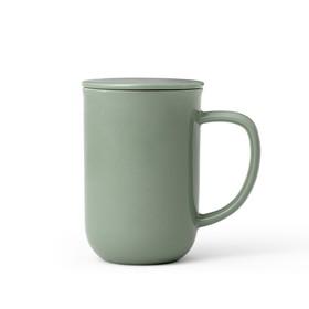 Чайная кружка с ситечком Minima 500 мл, зелёный