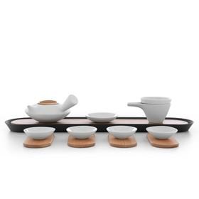 Набор для чайной церемонии Pure, 370/135/45 мл, 12 предметов, белый
