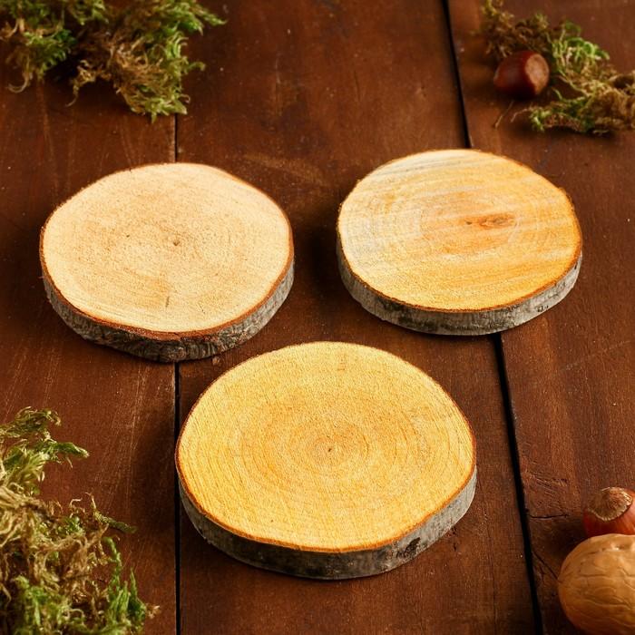 Набор спилов ольхи, диаметр 9-11 см, 3 шт