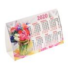 """Календарь-домик треугольный """"Цветы-2"""" 2020 год"""