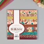 Набор бумаги для скрапбукинга BoBunny - Коллекция « FLORAL SPICE», 36 листов,15х15 см