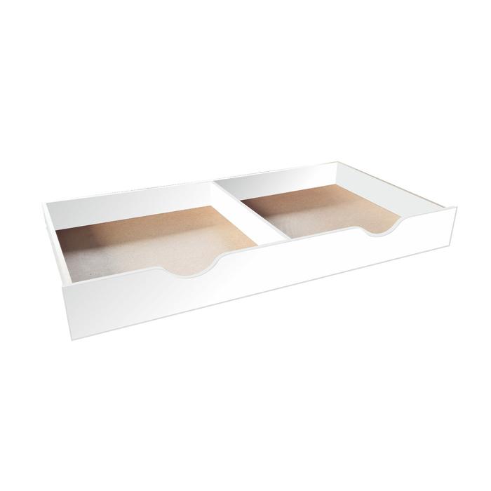 Ящик задвижной для детской кровати, 1588 × 716 × 194 мм, цвет белый
