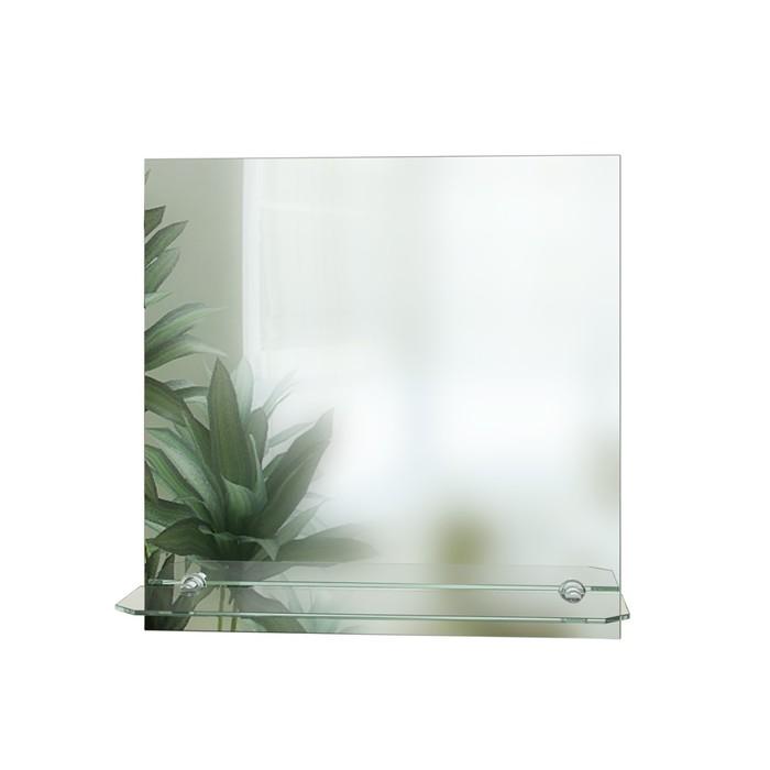 Зеркало № 67 с полкой, 500 × 500 мм - фото 3642961