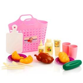 Игровой набор 'Пикник' 18 предметов, цвета МИКС