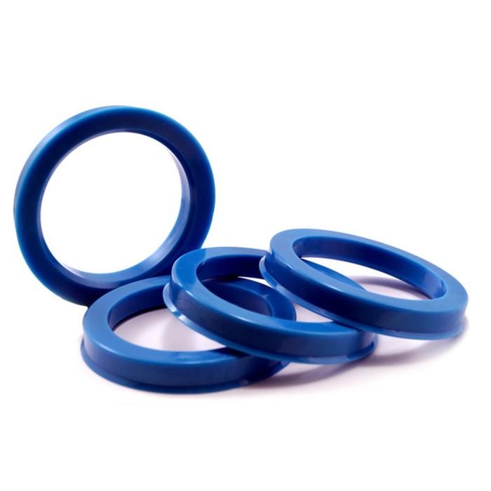 Пластиковое центровочное кольцо К&К 67,1-56,6 синие