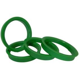 Пластиковое центровочное кольцо К&К 67,1-57,1 зеленые Ош