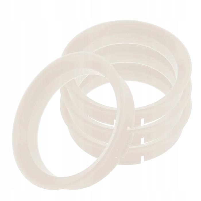 Пластиковое центровочное кольцо К&К 67,1-59,1 белые