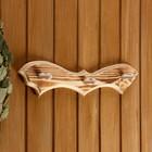 """Вешалка """"Летучая мышь"""", обожжённая, 3 крючка, 30,5×10×5 см - фото 4641807"""