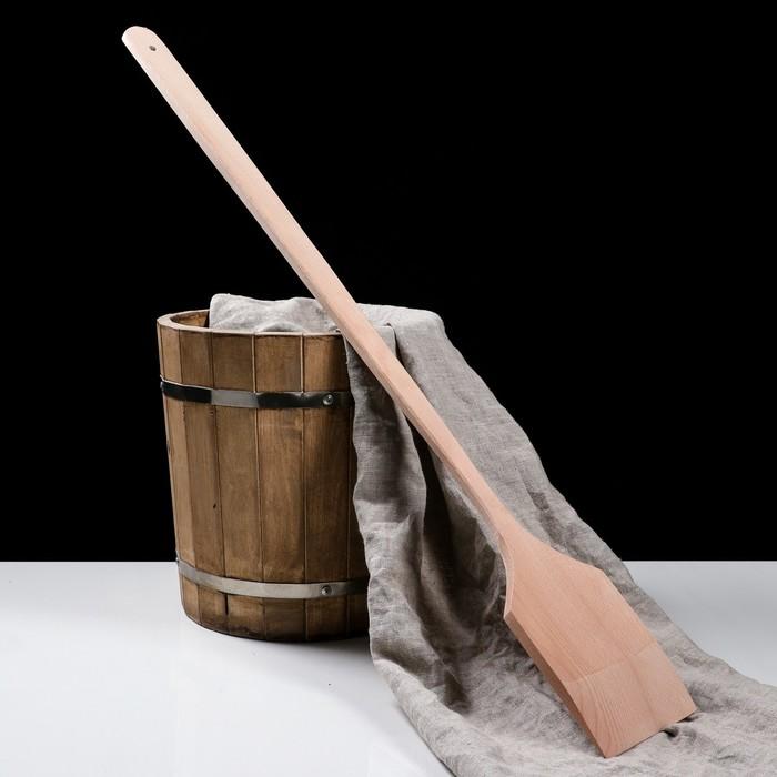 """Лопатка деревянная """"Эко"""", 90 см, широкая, утолщенная"""