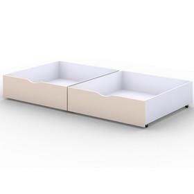 Ящики выкатные, 2 шт, к кроватке Viki 140х80 см, цвет бежевый