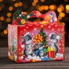 "Подарочная коробка ""Подарки для мышат"", 18 x 18 x 12 см"