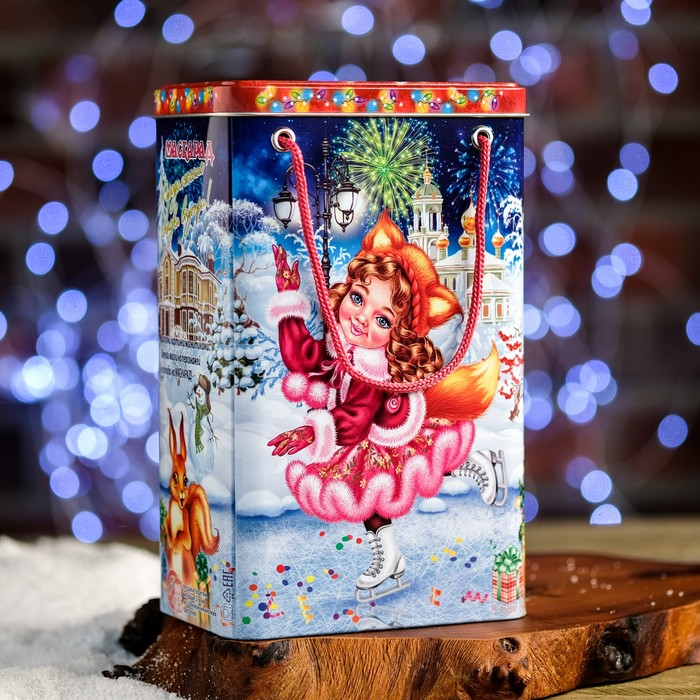 "Подарочная коробка ""Маскарад"", 13,5 х 9,5 х 21,5 см"