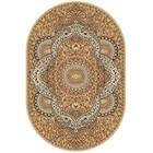 Ковёр овальный Laguna D505, размер 200 х 300 см, цвет beige - фото 7929327