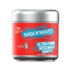 Крем-гель для волос Wella Shockwaves, небрежный образ, супер сильная фиксация, 150 мл