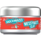Моделирующая глина для волос Wella Shockwaves, матовый эффект, 75 мл