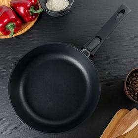 Сковорода 24 см Casta Chicago, глубокая, индукция, съёмная ручка