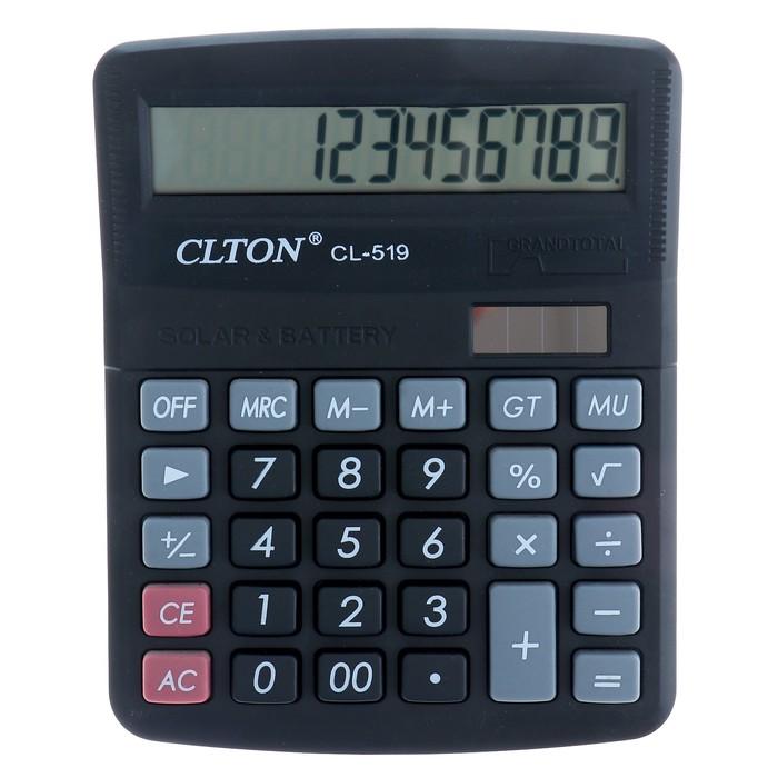 Калькулятор настольный 12-разрядный 519-CL двойное питание