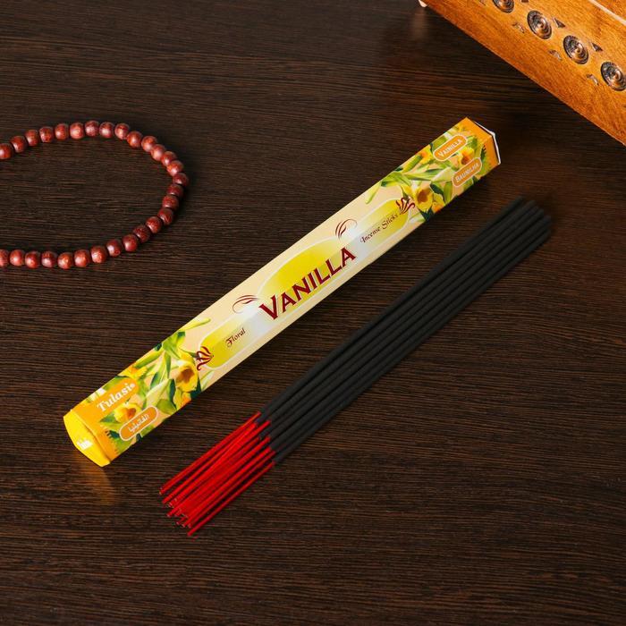 """Благовония """"Sarathi Vanilla"""" (Ваниль), шестигранник, 20 палочек"""