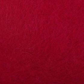 """Шерсть д/валяния """"Кардочес"""" 100% полутонкая шерсть 100гр (29 мкр, дл. 74, 1425 винный)"""