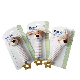 Игрушка-пищалка Uviton Animal, цвет МИКС