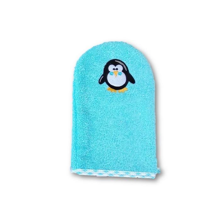 Рукавичка для купания Uviton Baby «Пингвиненок»