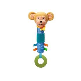 Игрушка-пищалка с прорезывателем BabyOno Eric «Обезьянка»