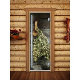 Дверь «Престиж» с фотопечатью, размер коробки 190 × 70 см, левая, цвет А003