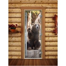 Дверь «Престиж» с фотопечатью, размер коробки 190 × 70 см, левая, цвет А061