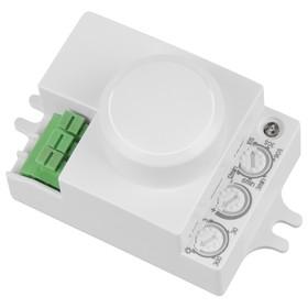 Микроволновый датчик SNS-M-06, цвет белый, IP20