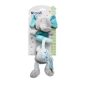 Игрушка-спиралька Uviton «Слоник», цвет голубой