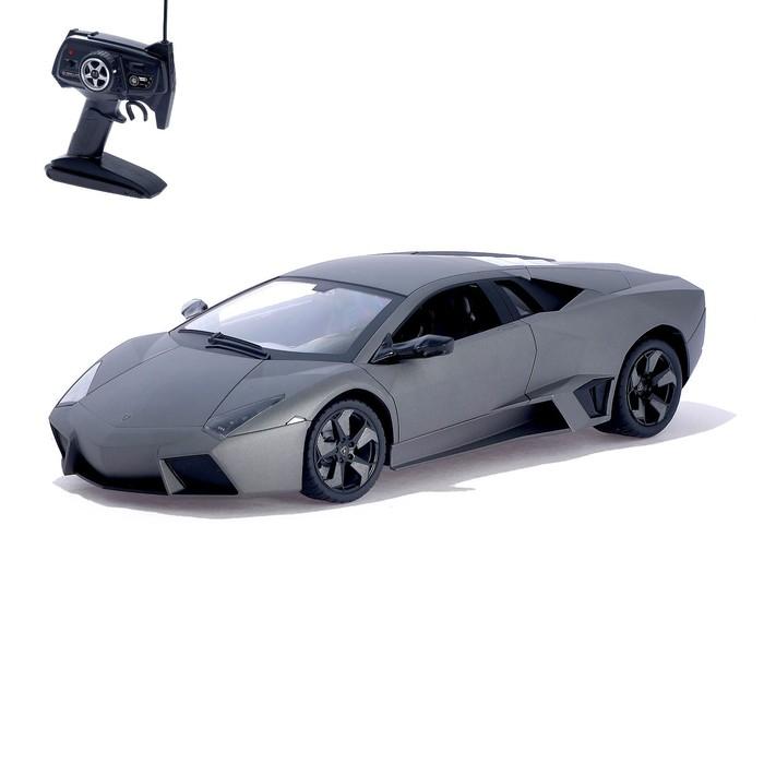 """Машина радиоуправляемая """"Lamborghini Reventon"""", масштаб 1:10, работает от аккумулятора, свет , МИКС, mz 2053"""