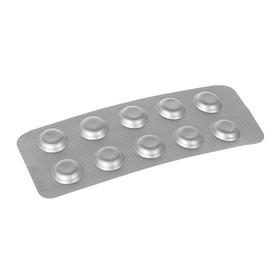 Тестерные таблетки для измерения свободных ионов водорода, 10 таблеток