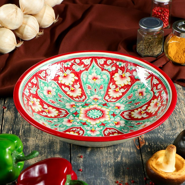 Супница Риштанская Керамика 29см - фото 142923