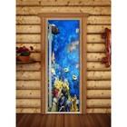 Дверь «Престиж» с фотопечатью, размер коробки 190 × 70 см, левая, цвет А068
