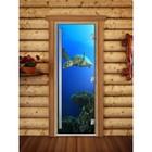 Дверь «Престиж» с фотопечатью, размер коробки 190 × 70 см, левая, цвет А086