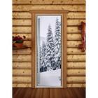 Дверь «Престиж» с фотопечатью, размер коробки 190 × 70 см, левая, цвет А091