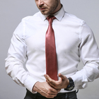Tie gray-red
