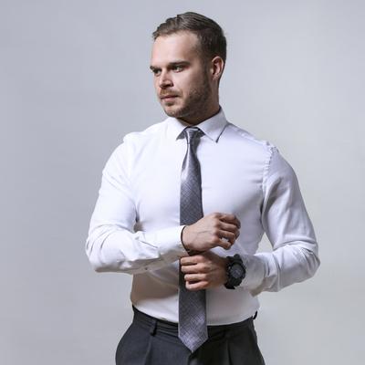 Tie dark gray