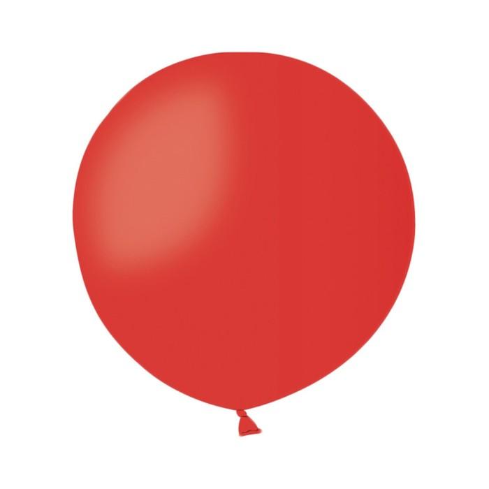 """Шар латексный 40"""", цвет красный - фото 158478501"""