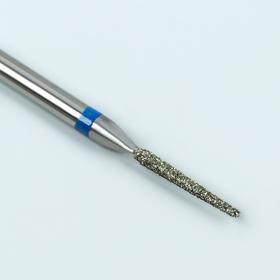 Фреза алмазная для маникюра «Игла», средняя зернистость, 1,4 × 10 мм Ош